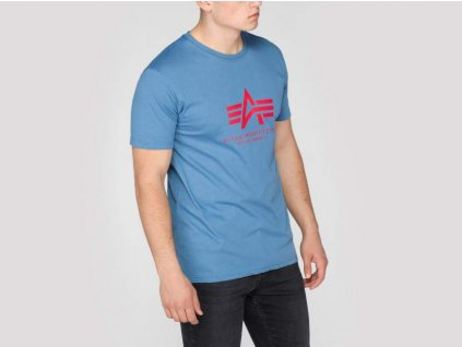 Alpha Industries Basic T-Shirt Powder Blue tričko pánske