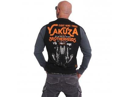 Yakuza BROTHERHOOD mikina pánska PB 16008 black