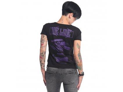 Yakuza WE LOVE BOX FIT dámske tričko GSB 16135 black