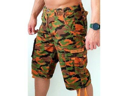 Alpha Industries Patrol Short Olive/red