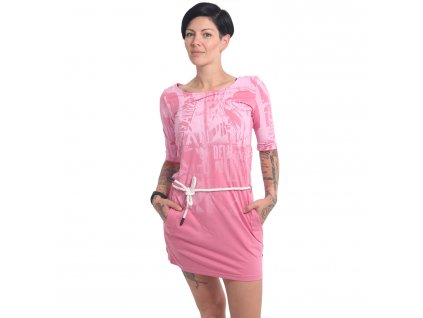 Yakuza dámske šaty DARK SIDE KLEID GKB 16152 wild rose