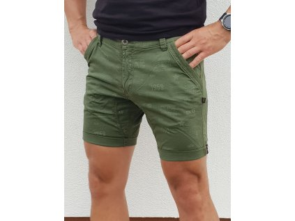 Alpha Industries KeAlpha Industries Kerosene Short pánske šortky all dark olive a