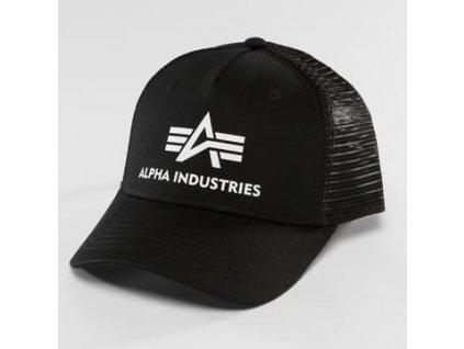 Alpha Industries Basic Trucker Cap šiltovka black