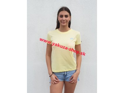 Alpha Industries Basic Small Logo T Wmn pastel yellow dámske tričko