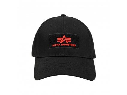 Alpha Industries VLC ll Cap šiltovka black red a