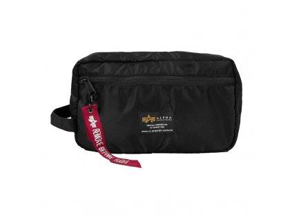 Alpha Industries Crew Travel Bag Black kozmetická taška