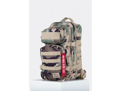 Alpha Industries TACTICAL Backpack ruksak woodl camo a