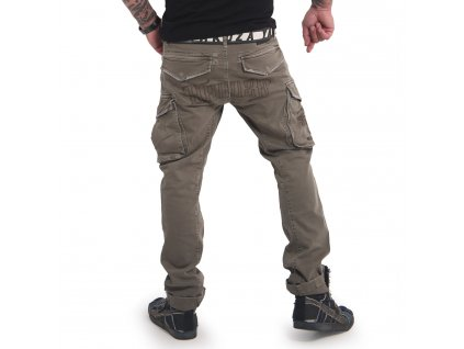 Yakuza pánske cargo nohavice OLD FIRM CARGO PANTS CPB 16046 grape leaf