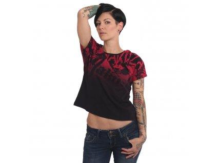 Yakuza 893ALLOVER dámske tričko GSB 16130 black
