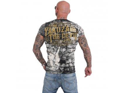 Yakuza THE DEVIL tričko pánske TSB 16011 black