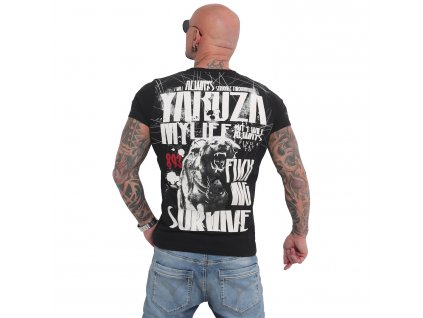 Yakuza MY LIFE tričko pánske TSB 16021 BLACK