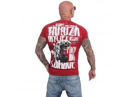 Yakuza MY LIFE tričko pánske TSB 16021 chili pepper