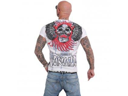 Yakuza BURNING SKULL tričko pánske TSB 16024 white