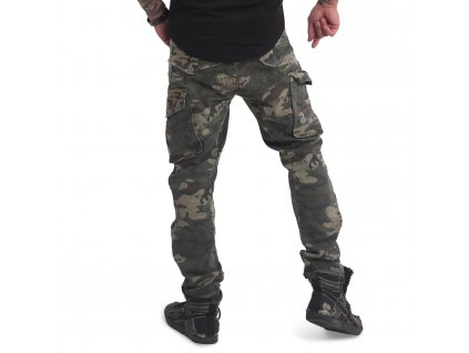 Yakuza pánske cargo nohavice OLD FIRM CARGO PANTS CPB 16046 camouflage