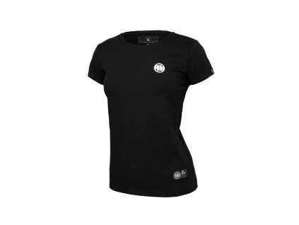 PitBull West Coast dámske tričko LYCRA SMALL LOGO black