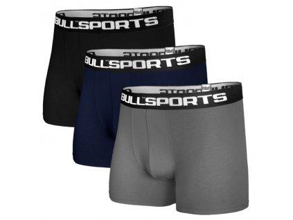 PitBull West Coast boxerky 3 ks v balení