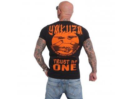 Yakuza tričko TRUST NO ONE pánske TSB 16028 black