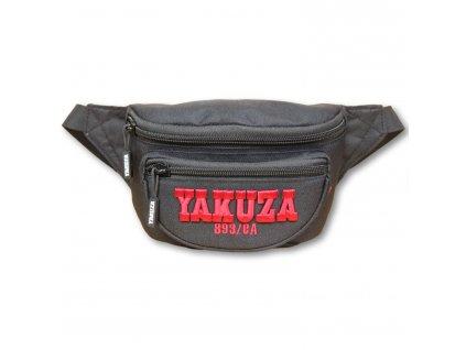 Yakuza ľadvinka 893COLLEGE Belt bag GTB 16305 black