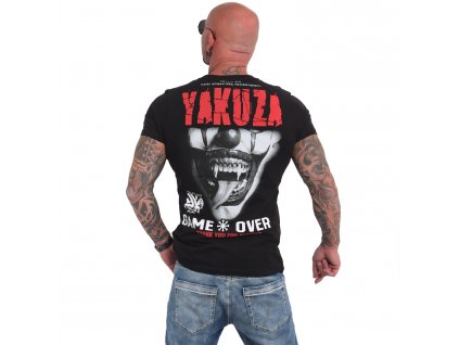 Yakuza GAME OVER tričko pánske TSB 16088 black