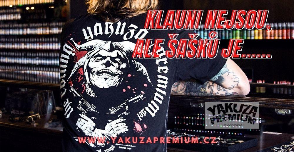 Tricko yakuza premium