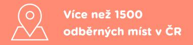 Více než 1100 odběrných míst v ČR