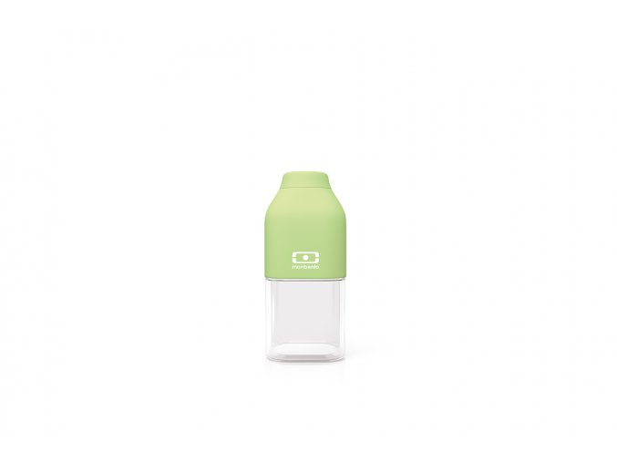 1 lahev monbento positive 330 ml apple zelena