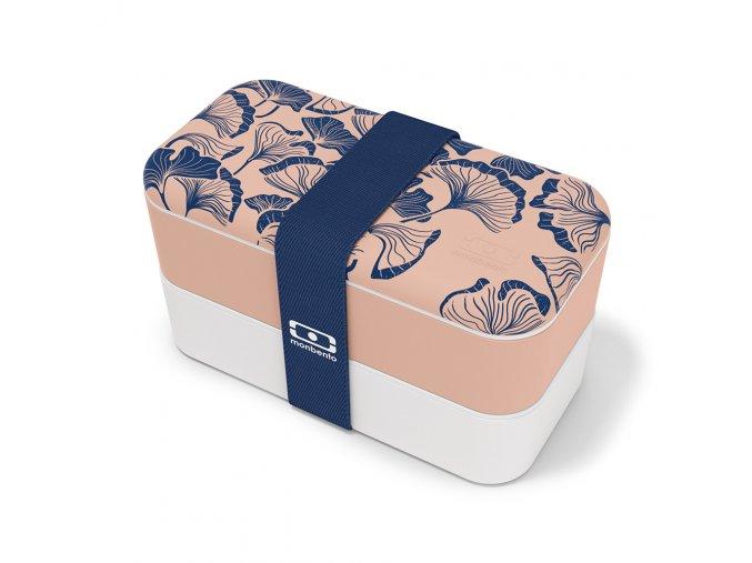 1 obedovy box monbento original ginko bezovo ruzova