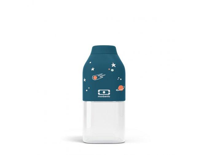 1 lahev monbento positive 330 ml cosmos modra