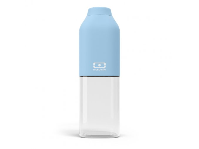 1 lahev monbento positive m 500 ml crystal svetle modra