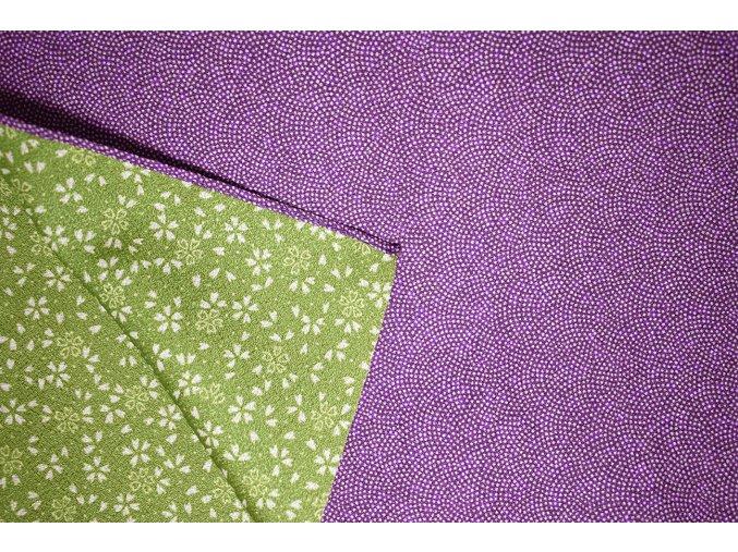 1 furoshiki fialova zeleny