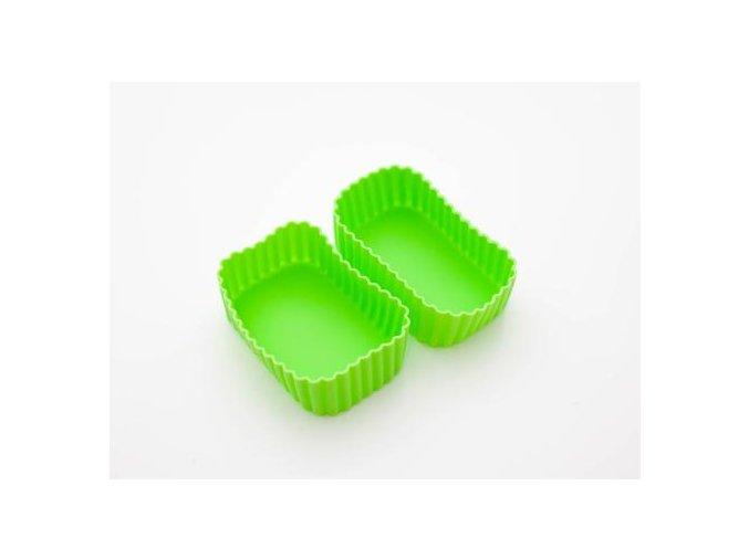 1 obdelnikove silikonove formy zelene