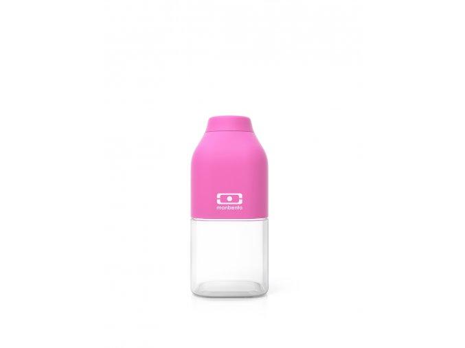 2 lahev monbento positive s 330ml ruzova