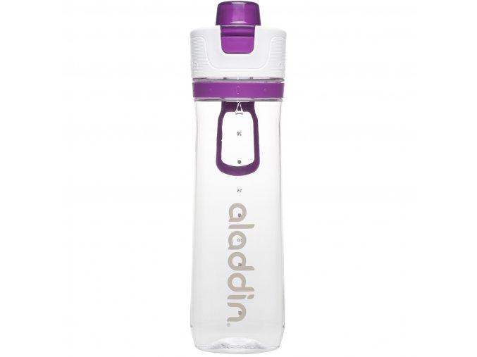 1 sportovni lahev s pocitadlem aladdin 800 ml fialova