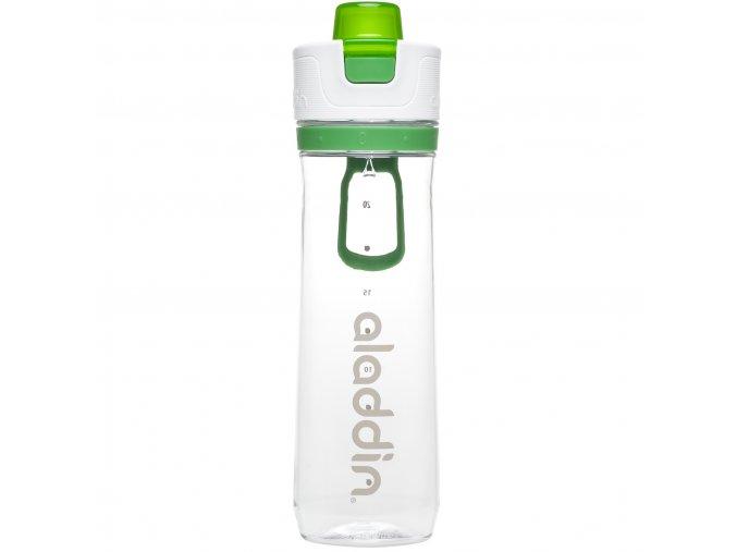 1 sportovni lahev s pocitadlem aladdin 800 ml zelena