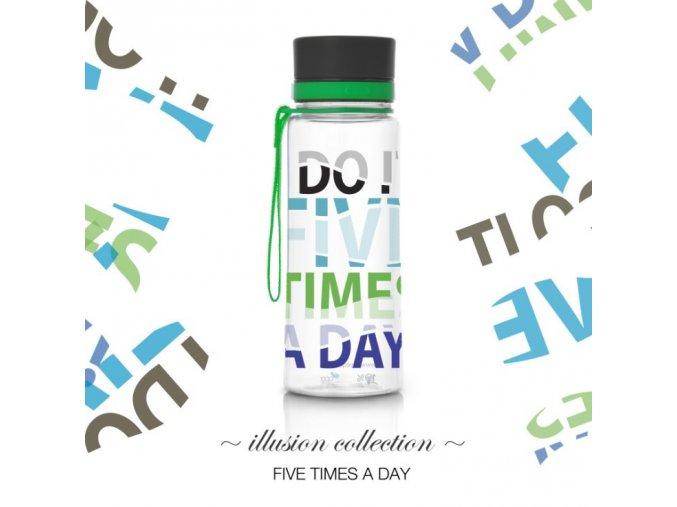 1 lahev equa five times a day 600 ml