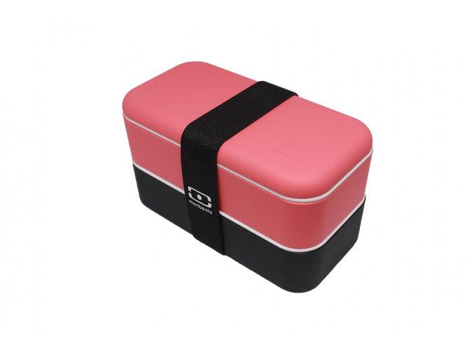 Obědový box Monbento Original | červeno-černý