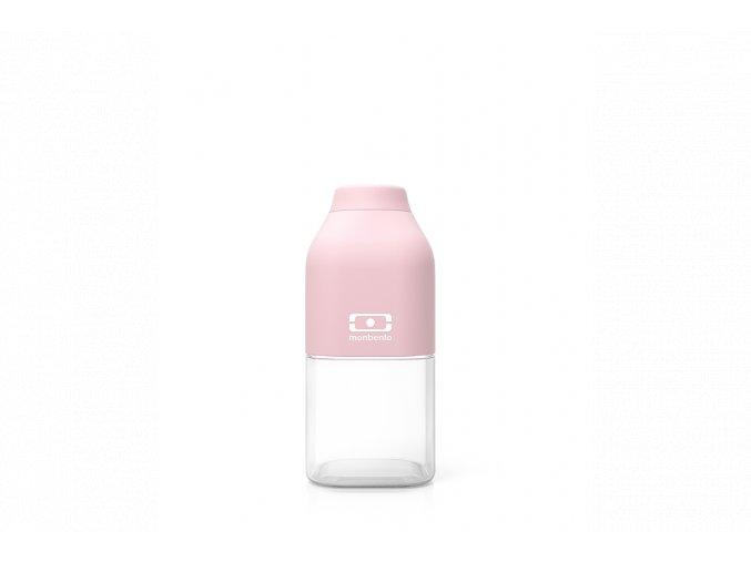 1 lahev monbento positive 330 ml litchi ruzova