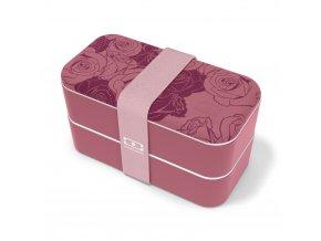 1 obedovy box monbento original romantic ruzovo vinova