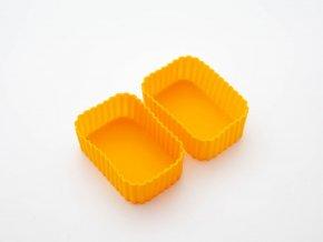 1 obdelnikove silikonove formy oranzove
