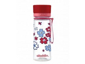 Lahev Aladdin Aveo 350 ml | červená s potiskem