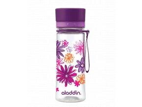 1 lahev aladdin aveo 350 ml fialova s potiskem
