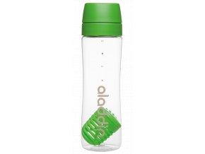 1 lahev s infuzerem aladdin 700 ml zelena