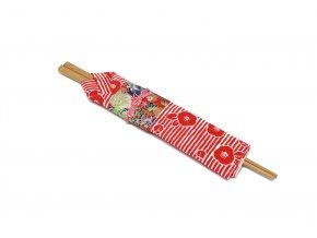 1 hulky v kimonu cervene