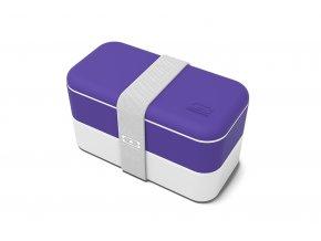 1 obedovy box monbento original ultra violet fialovy