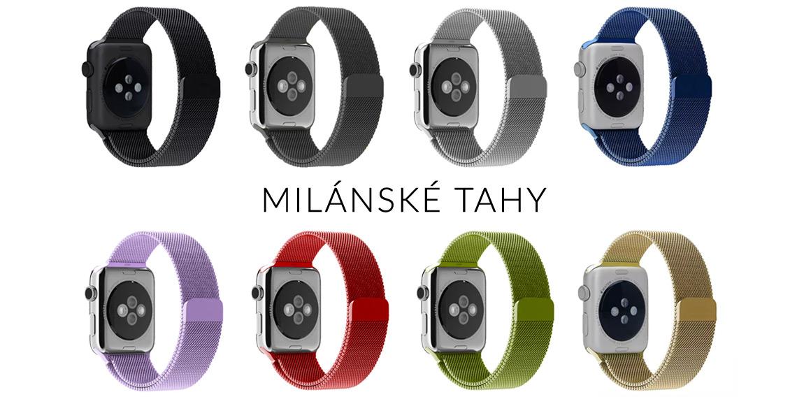 Milánské tahy pro Apple Watch