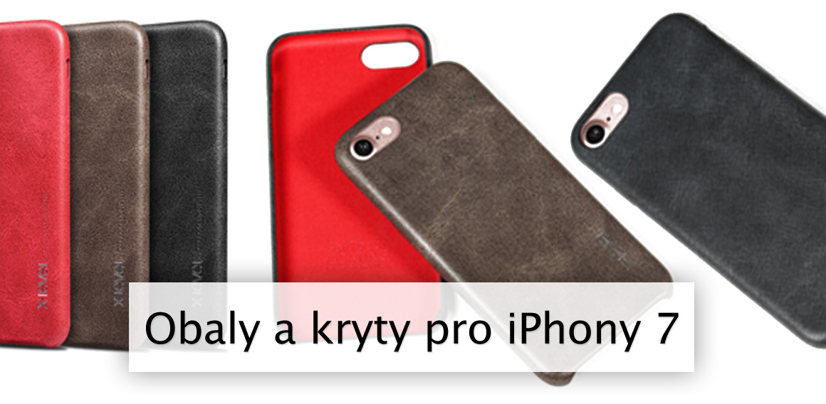 Obaly a kryty pro iPhony 7