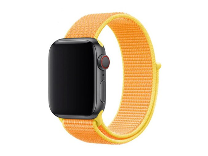 kanarkove zluty provlekaci reminek na suchy zip pro apple watch