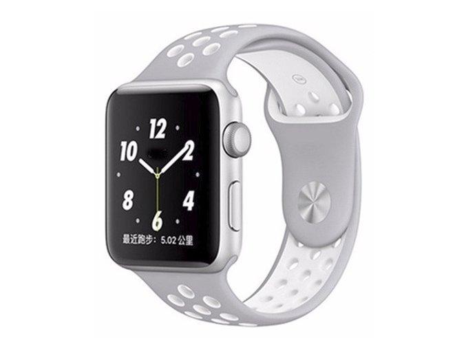 sedobily silikonovy reminek pro apple watch