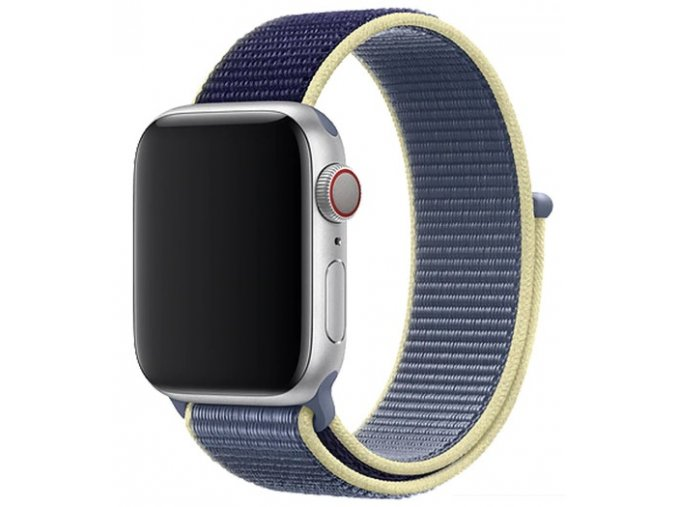 seversky modry provlekaci reminek na suchy zip pro apple watch