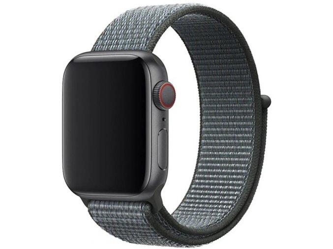 bourkove sedy provlekaci reminek na suchy zip pro apple watch
